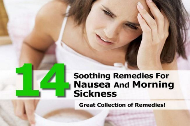 14 Soothing Remedies for Nausea and Morning Sickness - Nausea can be caused for many reasons, from dehydration to food poisoning, morning sickness to motion sickness, medications to acid reflux. Here are 14 home remedies for nausea and morning sickness