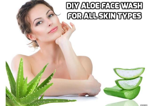 How to Actually Homemake the Best Aloe Face Wash? Washing your face feels good. It wakes you up, makes you feel fresh and clean and ready to face the day, and can help clear up certain skin issues. This particular aloe face wash is quite simple to make at home, and it works well on all types of skin. Read on to find out more.